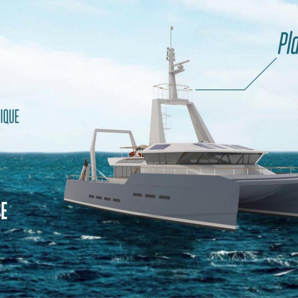Plastic Odissey : construction d'un navire pilote avec transformation des déchets en carburant
