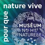 logo du muséum national d'histoire naturelle avec branche végétale et bonnet phrygien